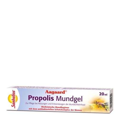 Aagard Sanhelios Propolis Mundgel Medizinische Mundhygiene