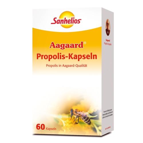 Aagaard Sanhelios Propolis-Kapseln 60 Kapseln Stärkt den Körper auch in der Erkältungszeit