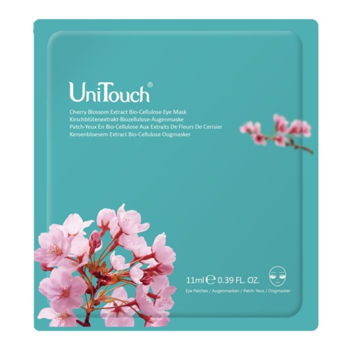 Perfection UniTouch Kersenbloesem Extract Bio-Cellulose Oogmasker Anti-rimpel oogmasker