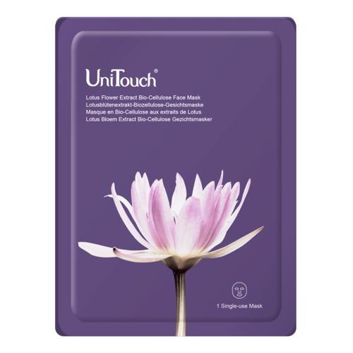 Perfection UniTouch  Lotusblütenextrakt-Biozellulose-Gesichtsmaske Regenerierende Maske mit Lotusblütenextrakt