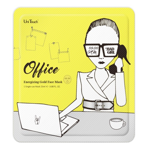 UniTouch: Energizing Gold Face Mask Office - Revitalisierende Gold Maske