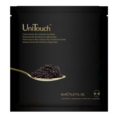 Perfection UniTouch  Kaviar Bio-Cellulose Augenmaske  Anti-Aging Augenmaske mit Kaviarextrakt