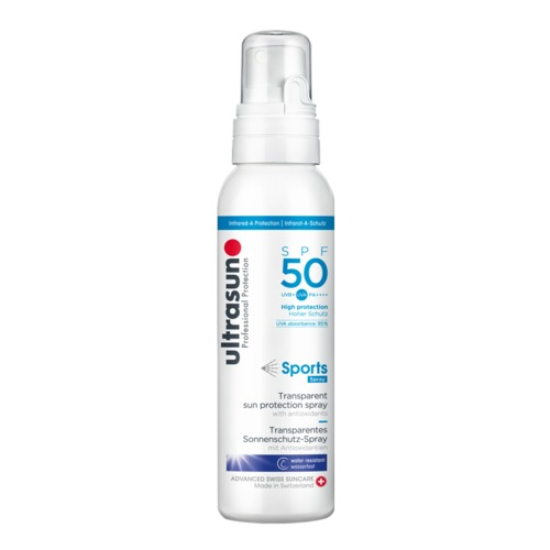 Body Ultrasun Sports Spray SPF50 Professionele zonnebrandspray