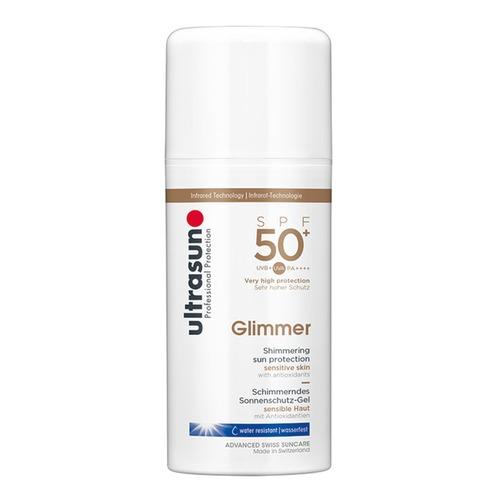 Body Ultrasun Glimmer SPF 50+ Schimmernde Sonnenschutz-Lotion für sensible Haut