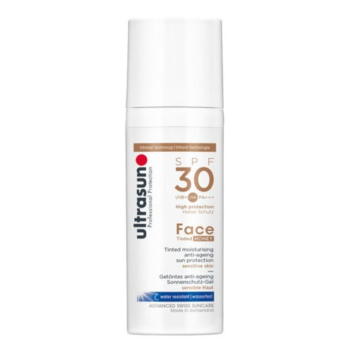 Ultrasun: Anti-Age SPF30 Tinted Honey - Getönter Anti-Aging Sonnenschutz - sensible Haut