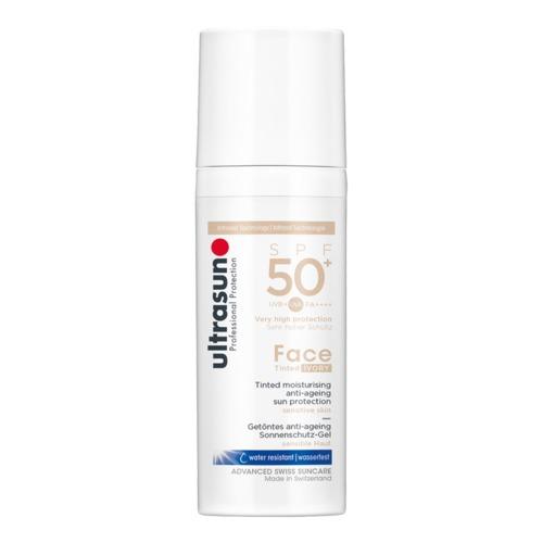 Face Ultrasun Anti-Age Tinted Ivory SPF 50+ Tagespflege mit Lichtschutzfaktor SPF 50+