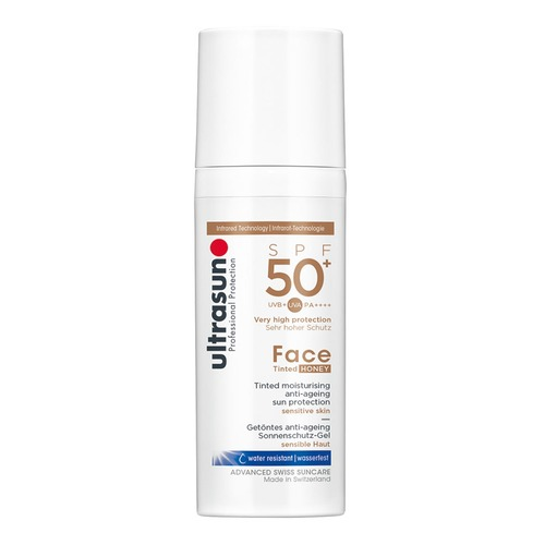 Face Ultrasun Anti-Age SPF 50+ Tinted Honey Getöntes Anti-Aging Sonnenschutz-Gel