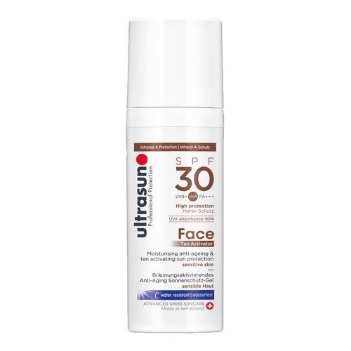 Face Ultrasun Face Tan Activator SPF30 Tan Activator mit SPF 30 für das Gesicht