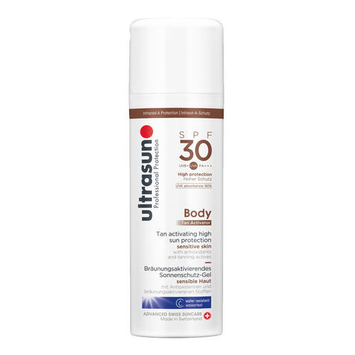 Body Ultrasun Tan Activator SPF30 Bruining activerend zonnebrandgel