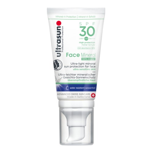 Face Ultrasun Face Mineral SPF30 Mineralischer Sonnenschutz für das Gesicht