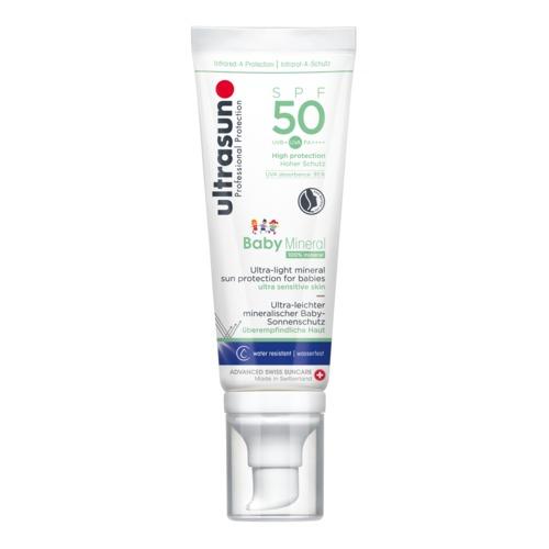 Body Ultrasun Baby Mineral SPF50 Minerale zonnebrandcrème emulsie voor baby's