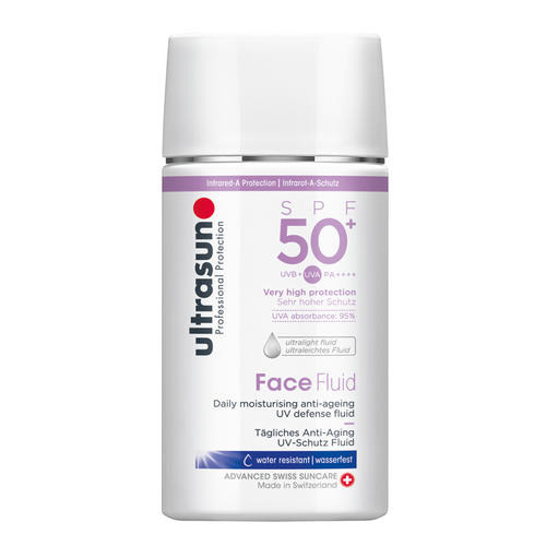 Ultrasun: Face Fluid SPF50+ - Tägliches Anti-Aging Face Fluid