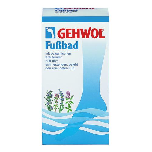 Fuß- und Beinpflege GEHWOL Fußbad Fußbad mit balsamischen Kräuterölen
