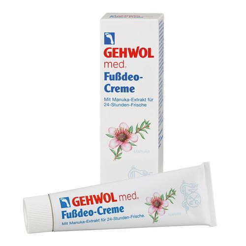 Med. Spezialpräparate Gehwol Fußdeo-Creme Beseitigung von starkem Fußgeruch