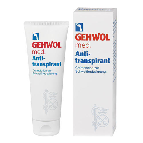 med. Spezialpräperate GEHWOL   Antitranspirant Cremelotion zur Schweißreduzierung
