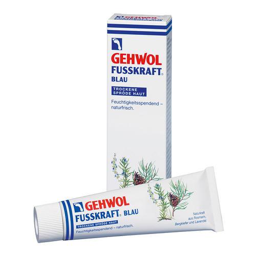 Fusskraft GEHWOL   FUSSKRAFT BLAU für trockene spröde Haut feuchtigkeitspendend, naturfrisch