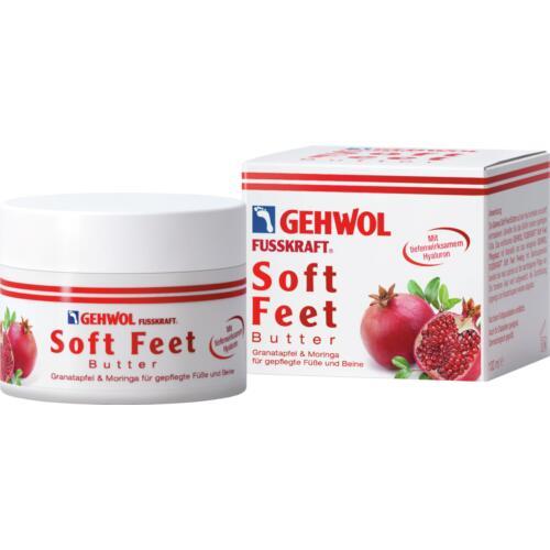 Fusskraft GEHWOL   Soft Feet Butter mit tiefwirksamen Hyaluron