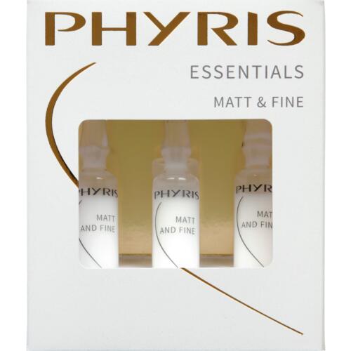 Essentials Phyris Matt and Fine Geeft nieuw volume en maakt de teint mat