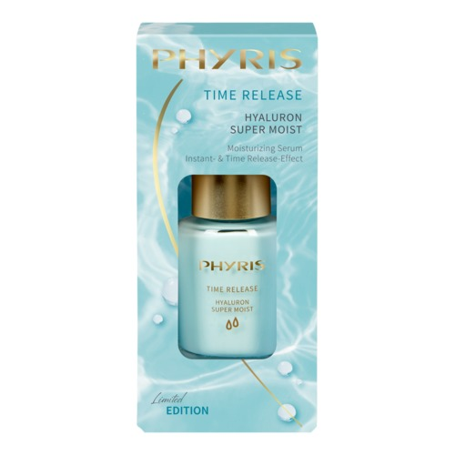 Time Release Phyris Hyaluron Super Moist - Limited Edition Feuchtigkeitsserum mit Hyaluron