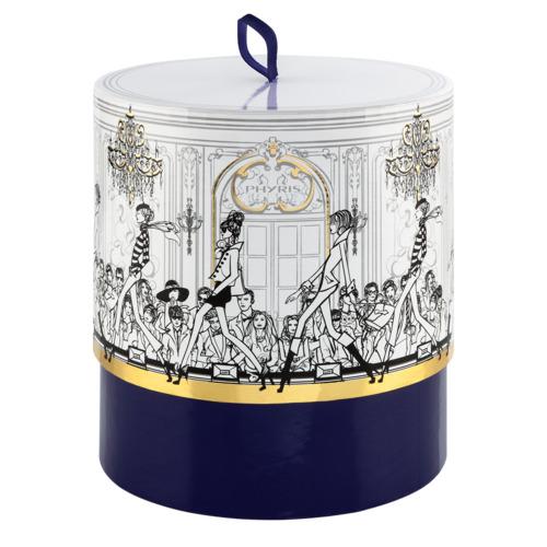 Phyris Geschenkbox lila, unbefüllt Runde trendige Geschenkbox