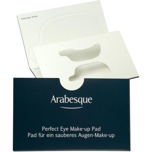 Profi-Zubehör Arabesque Perfect Eye Make-up Pad Pad für ein sauberes Augen-Make-up
