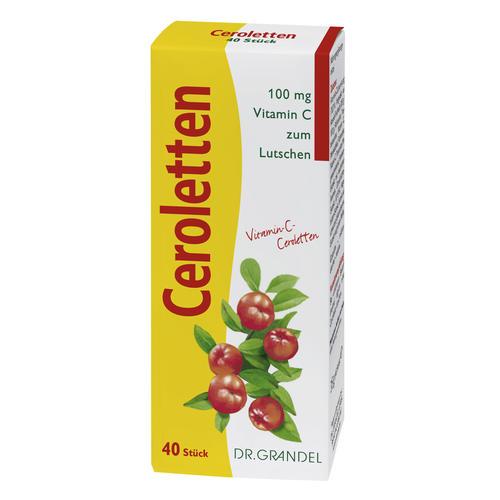 Vitamine & Bioflavonoids DR. GRANDEL CEROLETTEN Wafers with vitamin C