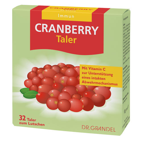 Vitamins & Bioflavonoids Dr. Grandel Cranberry Taler Cranberry concentrate and vitamin-C