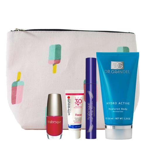 Aktion DR. GRANDEL, ARABESQUE Beauty-Tasche Sommer Must-haves Beauty-Produkte für den perfekten Sommerlook