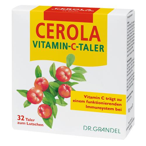 Vitamine & Bioflavonoide Dr. Grandel Cerola Vitamin-C-Taler Vitamin C zum Lutschen
