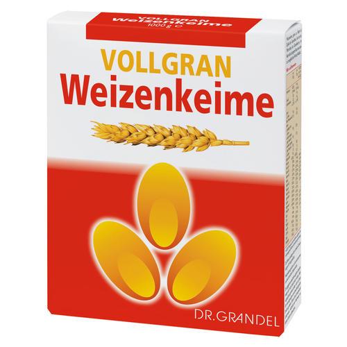 Weizenkeime und Ballaststoffe Dr. Grandel VOLLGRAN Weizenkeime Weizenkeime Premiumqualität