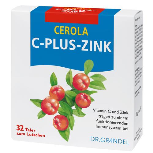 Vitamine & Bioflavonoids DR. GRANDEL CEROLA C-plus-Zinc Wafers Vitamin C and Zinc