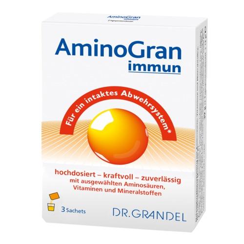 Aminosäuren & Milchsäurebakterien Dr. Grandel Health Aminogran immun Für ein intaktes Abwehrsystem*