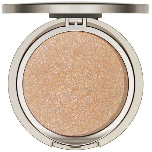 Modelling and Accentuating ARABESQUE Golden Glow Powder with glitter particles for face and body
