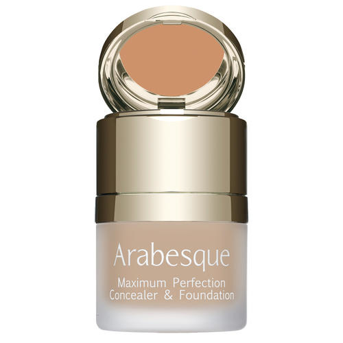 Foundation ARABESQUE Maximum Perfection make-up met geïntegreerde concealer