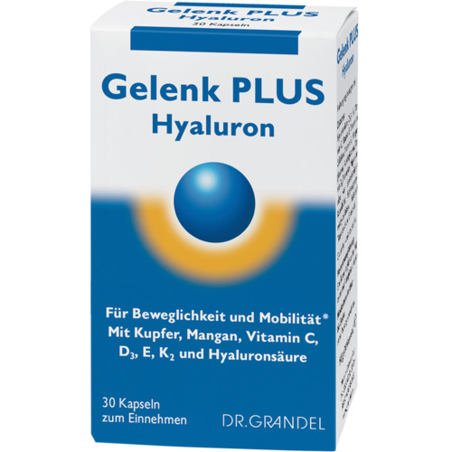 Joints Dr. Grandel Gelenk plus Hyaluron 60 pcs For flexibility and mobility*