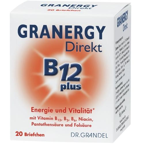 Vitamins & Bioflavonoids DR. GRANDEL GRANERGY Direkt B12 plus Energy and Vitality