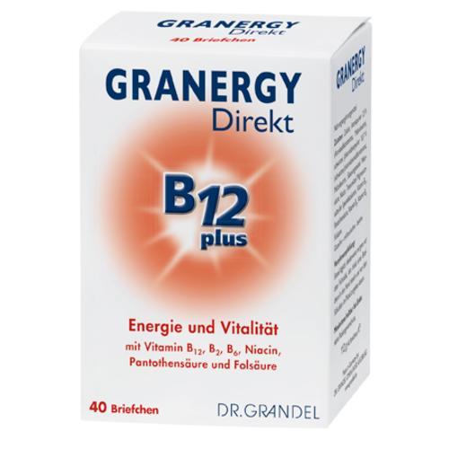 Vitamine & Bioflavonoide Dr. Grandel GRANERGY Direkt B12 plus Energie und Vitalität