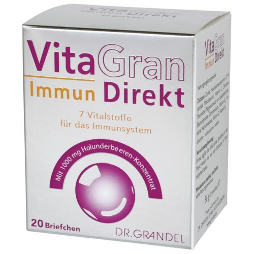 Vitamins & Bioflavonoids DR. GRANDEL VitaGran Immun Direkt 7 vital substances for an active immune system