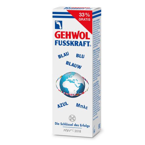 Fusskraft Gehwol FUSSKRAFT Blau Jubiläumsedition feuchtigkeitspendend, naturfrisch