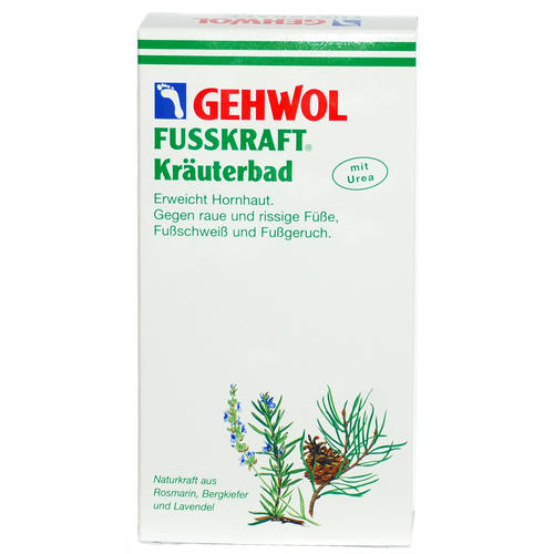 Fusskraft GEHWOL Kräuterbad Erweicht Hornhaut