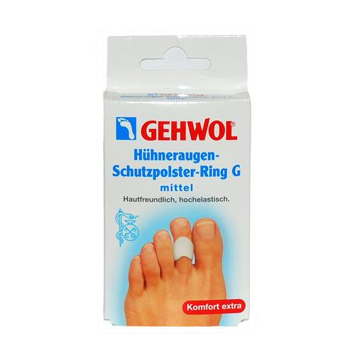 Pflaster & Druckschutz GEHWOL Hühneraugen-Schutzpolster-Ring G mittel Hautfreundlich, hochelastisch