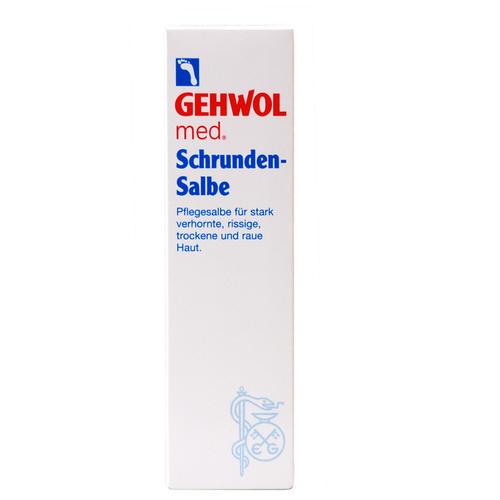 Med. Spezialpräparate GEHWOL Schrunden-Salbe Verlässliche Pflege für Verhornungen