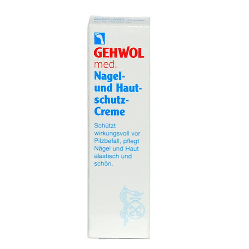 med. Spezialpräparate GEHWOL Nagel- und Hautschutz-Creme Schütz wirkungsvoll vor Pilzbefall.