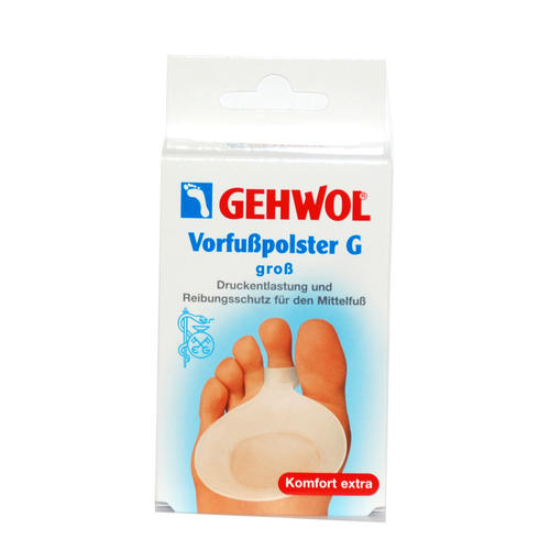 Pflaster & Druckschutz GEHWOL   Vorfußpolster G - groß Hautfreundlich