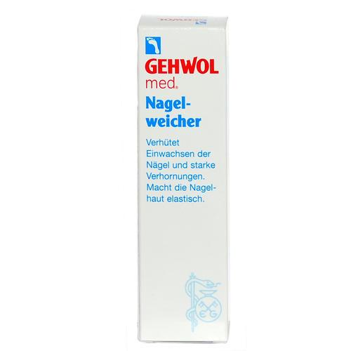 med. Spezialpräparate GEHWOL Nagelweicher Verhindert Einwachsen der Nägel