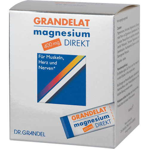 Minerals & Trace Elements Dr. Grandel Grandelat magnesium direkt 400 mg 40 pcs Magnesium for direct ingestion without water