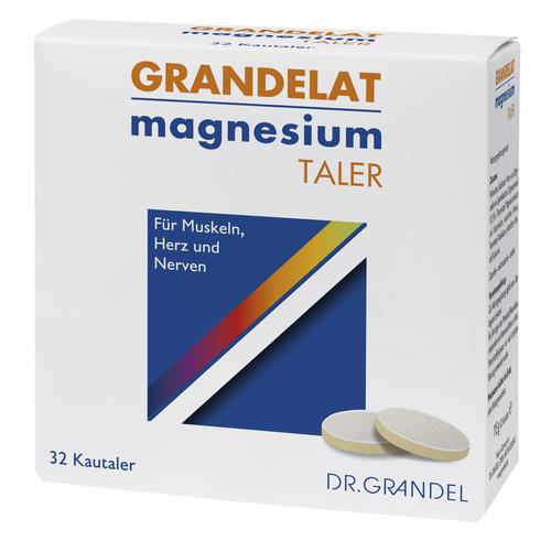 Mineralstoffe & Spurenelemente Dr. Grandel Health Grandelat magnesium Taler Für Muskeln, Herz und Nerven
