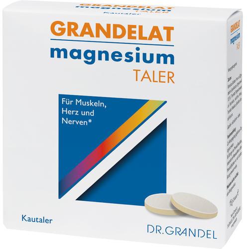 Mineralstoffe & Spurenelemente Dr. Grandel Grandelat magnesium Taler Wohlschmeckende Magnesium-Kautaler