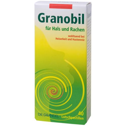 Phyto-Spezialitäten Dr. Grandel Granobil For throat and pharynx