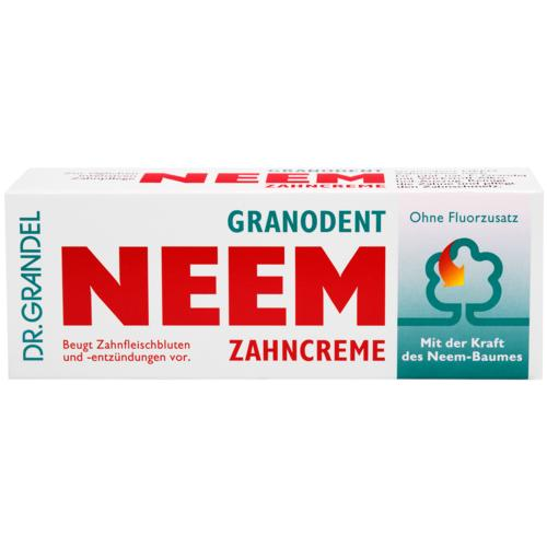 PHYTO specialities DR. GRANDEL GRANODENT NEEM Zahncreme Toothpaste for cleansing of the teeth